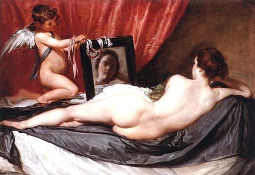 Diego Velázquez Venere allo specchio