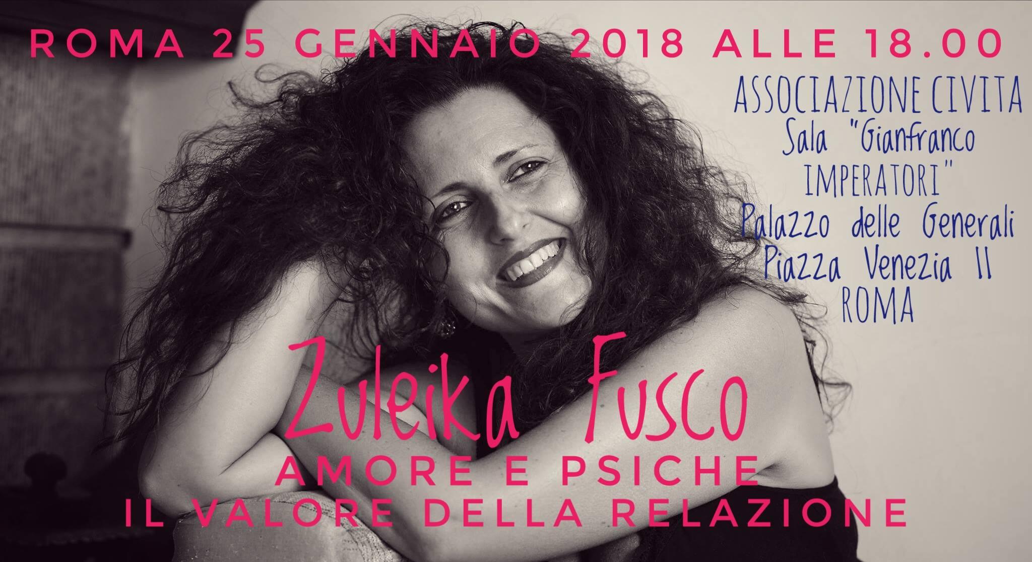 25 gennaio 2018 | Amore e Psiche. Il valore della relazione - Roma