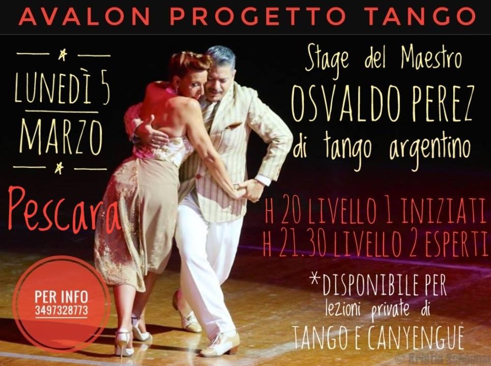 stage maestro tango argentino osvaldo perez avalon progetto tango pescara abruzzo