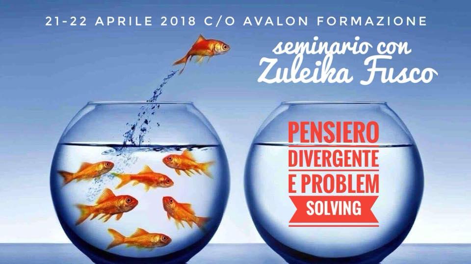 Pensiero Divergente e Problem Solving | 21-22 aprile 2018 - Avalon Counseling Media-Comunic-Azione - Pescara - Abruzzo