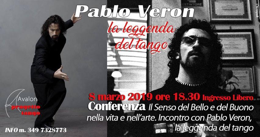 Incontro con PABLO VERON, la leggenda del tango - Avalon Progetto Tango Pescara