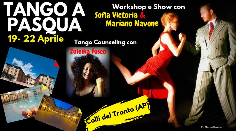 Tango e Tango-counseling con Zuleika Fusco, Mariano Navone, Sofia Victoria
