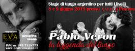 Stage con PABLO VERON a Pescara – 8 e 9 giugno 2019
