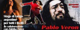 Stage di tango argentino con PABLO VERON a Pescara | 29 febbraio – 1 marzo 2020