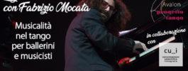 Lezioni a casa con Fabrizio Mocata. Musicalità nel tango per ballerini e musicisti | 28 maggio, 1 e 8 giugno 2020