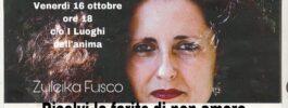 Risolvi le ferite di non-amore. Incontro con Zuleika Fusco | VENERDÌ 16 OTTOBRE 2020 ALLE ORE 18:00